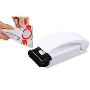 Mini Scelleuse Thermoscelleuse Machine Portable à Sceller le Plastique Aluminium