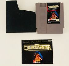 The Chessmaster (Nintendo NES, 1989) Complete with Manual