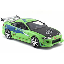 2001 Fast & Furious 1995 Mitsubishi Eclipse Diecast Jada Toys 1:24 97603 Green