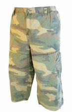 Cotton Cargo, Combat Stretch Big & Tall Shorts for Men