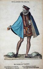 NIEDERLANDE HOLLANDUS BELGA ORIGINAL HOLZSCHNITT AMMAN WEIGEL TRACHTEN BUCH 1577