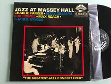 LP 1970 ITALY  Charlie Parker, Dizzy Gillespie, Bud Powell, Jazz At Massey Hall