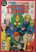 Justice League (1987) #1 - Signed By Keith Giffen - Comic Book - DC Comics