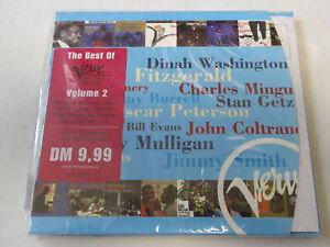 VARIOUS : Best Of Verve Vol. 2  > OVP / SEALED (CD)