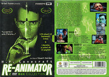 RE-ANIMATOR - BOX COLLECTION  2 DVD (NUOVO SIGILLATO)