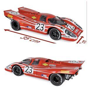 1/12 Norev Porsche 917K Winner 24h France 1970 N°23 Attwood Livraison Domicile