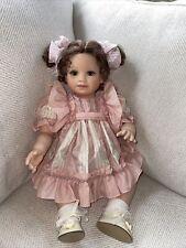 """Very Sweet 21"""" Virginia Ehrlich Turner Vinyl and Cloth Doll W/box"""