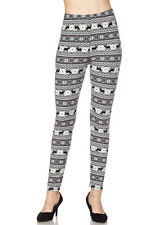 PLUS SIZE Buttery Soft Always Brushed Christmas Leggings TC/P272