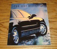 Original 1997 Buick Full Line Deluxe Sales Brochure 97 LeSabre Skylark Riviera