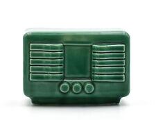 Tirelire à casser céramique poste de radio old ceramic piggy bank