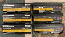 New listing Lot Of 6 70+ Battery Lenovo ThinkPad T430 W530 W520 T530 L530 L430 Oem