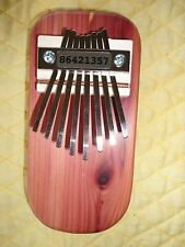 KALIMBA or THUMB PIANO--Diatonic scale-cedar-Fun for any age-New