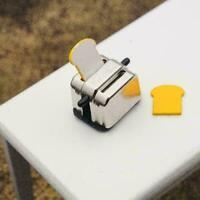 1:12 Maßstab Puppenhaus Miniatur Küche Brot Toaster Modell-Nett G7P0 B3Y2 K9K3