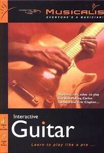 Musicalis Interactive Guitar   Unique Music Teaching System   New in Box
