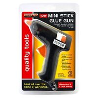 New Hot Melt Glue Gun Electric Trigger Adhesive Hobby Art Craft 2 FREE Sticks