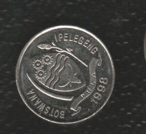 BOTSWANA 10 THEBE 1998