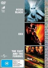 Pitch Black / XXX / Fast And The Furious DVD - New/Sealed Region 4 DVD