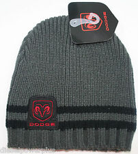 Dodge Ram BEANIE Stocking hat skull cap logo decal chrysler plymouth Mopar car