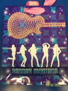 Hannah Montana Rock the Stage Pop Star Birthday Party Cub Medium Gift Bag