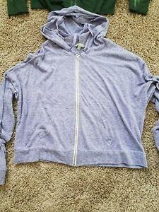 women rubbish zip jacket  size M