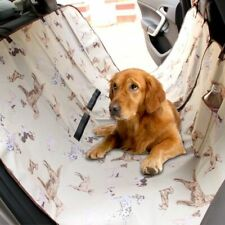 Waterproof Dog Carriers Fashion Adjustable Rear Back Pet Car Seat Cover Mats
