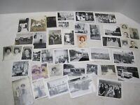 LOT OF 62 VINTAGE FAMILY PHOTOGRAPHS, POSTCARDS, NEGATIVES 1900's-1950's