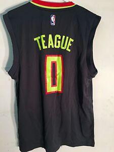 Adidas NBA Jersey Atlanta Hawks Jeff Teague Grey Alt sz M