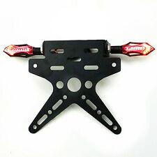 Arrow Led Turn signal Running Brake Stop Tail Light License Plate Bracket Custom