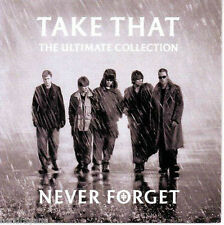 TAKE THAT (NEVER FORGET - THE ULTIMATE COLLECTION CD SEALED + FREE POST)