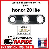 Vitre arrière caméra HONOR 20 LITE Lentille appareil photo Lens verre rear back