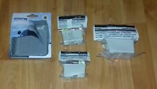 GENUINE EPSON T007 BLACK TWIN PACK & T009 COLOUR INK CARTRIDGES. NEW & SEALED