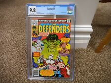 Defenders 56 cgc 9.8 Marvel 1978 Incredible Hulk 1st full Lunatik story MINT TV