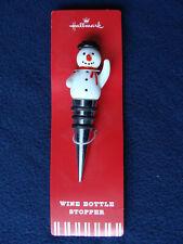 New listing Hallmark - Snowman Wine Bottle Stopper - New