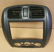 01-03 Mazda Protege Heater Radio Dash Bezel Trim Surround Panel Vents