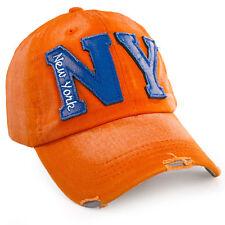 Men Women Baseball Cap Snap back Hats Outdoor Sports Hats Adjustable NY