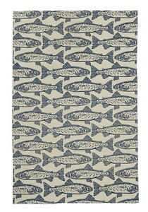 "Ulster Weavers, ""Salmon"", Pure cotton printed tea towel"