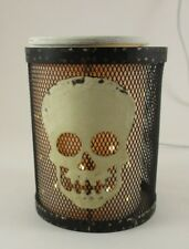 FULL SIZE SILHOUETTE SCENTSY WITH WIRE BONES, SKULL COVER,2 LAMPS IN ONE