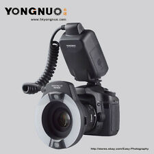 YONGNUO YN-14EX  TTL Macro Ring flash light for Canon with 4 Adapter Ring