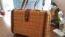 Vintage Etienne Aignier Straw Bag form the 1970's, in Excellent Condition!