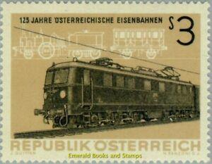 EBS Austria Österreich 1962 125 years Austrian Railways Eisenbahn ANK 1157 MNH**