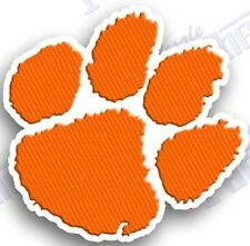 CLEMSON TIGERS  iron on embroidered PATCH COLLEGE UNIVERSITY SPORTS FOOTBALL