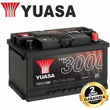 YBX3100 BATTERIA YUASA 70 71 AH 650 A FORD S-MAX B-MAX C-MAX TOURNEO ORION