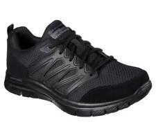 $281 Skechers Mens Black Flex Advantage Memory Foam Lace Up Sneakers Shoes 7.5