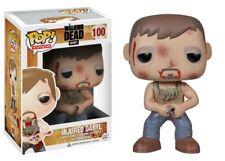 Funko Pop The Walking Dead Injured Daryl #100 Vinyl Figure Vaulted w/ Protector