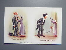 R&L Postcard: Comic, Cynicus Scottish Character Sketches, Funeral