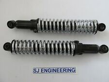 "TRIUMPH T120 TR6 12.9"" CHROME SPRING SUSPENSION SHOCK ABSORBER 60-2023 NEW SJ629"