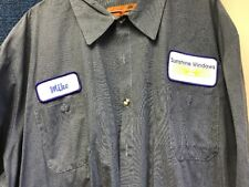Vintage 90s  Mechanic  Auto Shop Shirt Men's 4XL- Short Sleeve