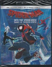 SPIDERMAN INTO THE SPIDER-VERSE 4K ULTRA HD & BLURAY SET with Hailee Steinfeld