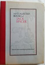 THE COLLECTED BOOKS of JACK SPICER,382pp,1975,EDITED BY BLASER