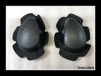Slider Genou Universel Noir Carbon pour Combinaison Cuir Moto NEUF - FRANCE